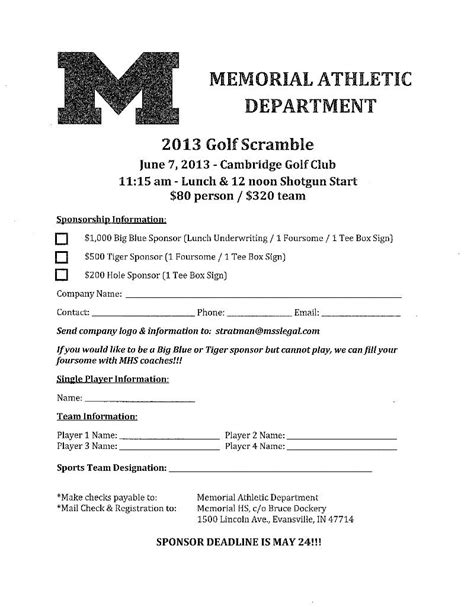 waiver form template for sports reitz memorial high school may newsletter