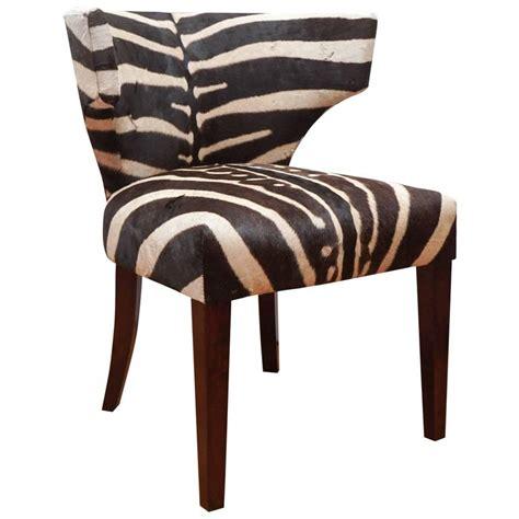 klismos chairs vintage klismos chair with zebra upholstery at 1stdibs