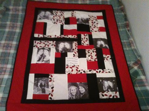 Wedding Memory Quilt by Photo Memory Quilts