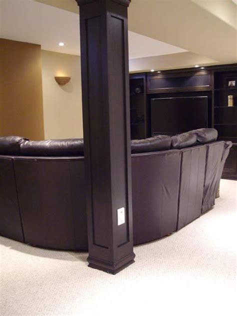 basement wrap best 25 basement pole covers ideas on cave bar wall ideas basement pole ideas