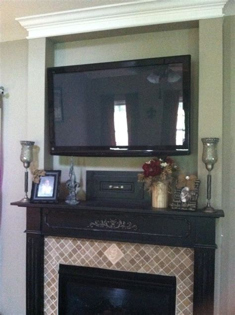 27 best mantel with tv mount images on pinterest