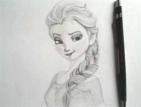 Speed Sketches Q A Update by Dibujado A Elsa From Speed Drawing Elsa From Frozen