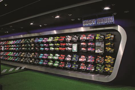 football shoes store lifestyle sports dundrum town centre store design