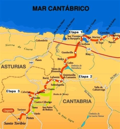 camino norte cantabria peregrina ofrece descuentos en el camino