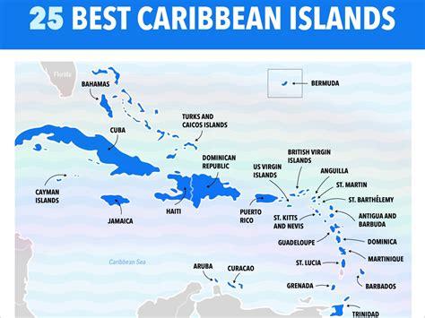 best caribbean islands best caribbean islands chart business insider
