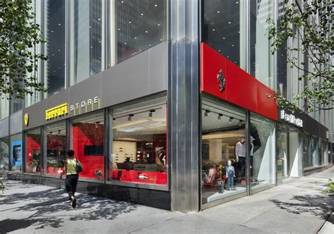 ferrari showroom lavish ferrari store finally opens in new york