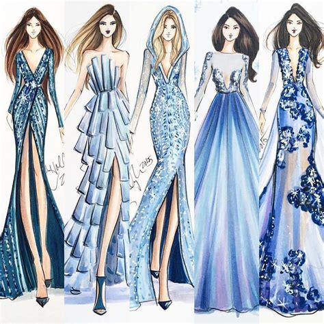 dress pattern layout ilustration pinteres