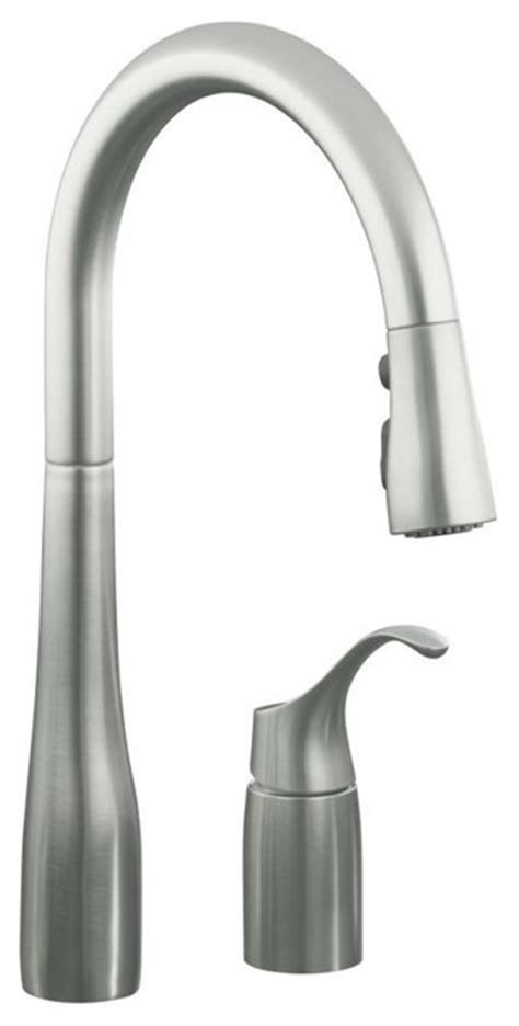 pull out spray kitchen faucets traditional kitchen