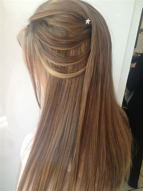 down hairstyles for dance half up half down hairstyle i did for a matric dance