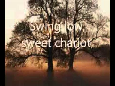 Johnny Swing Low Sweet Chariot by Swing Low Sweet Chariot Lyrics
