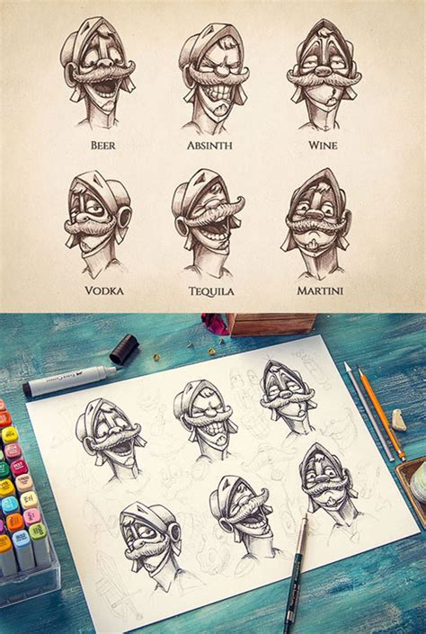 Sketches Exles by Inspiring Exles Of Character Design Sketching By Mike
