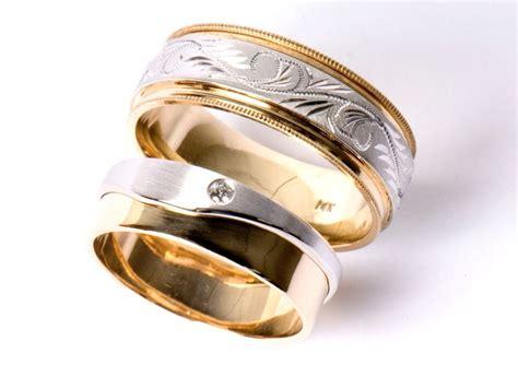 imagenes de anillos de matrimonio en oro blanco anillos de matrimonio en oro blanco y oro imagui