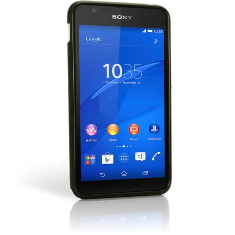 Protector With Stand For Sony Xperia E4 glossy tpu gel for sony xperia e4 2015 e2104 skin cover screen protector ebay