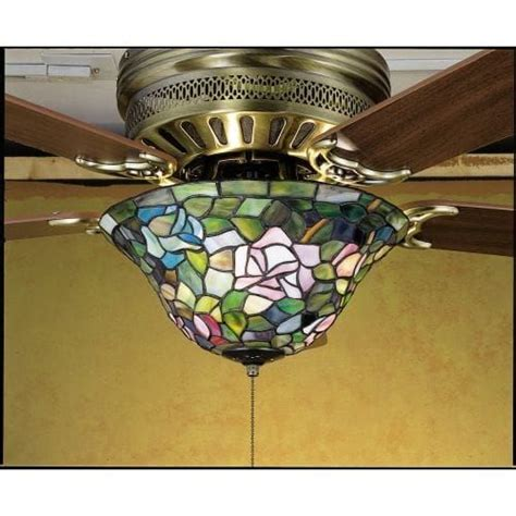 meyda ceiling fan light kit 41 best stained glass ceiling fan images on