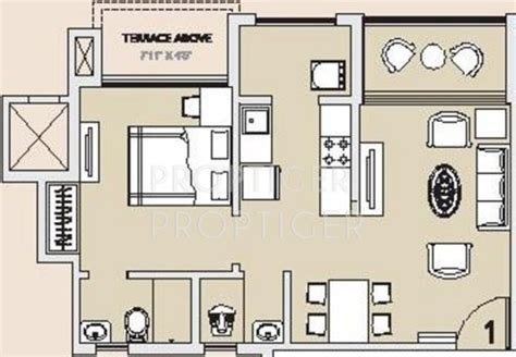 640 square feet floor plan 640 sq ft 1 bhk 2t apartment for sale in hubtown