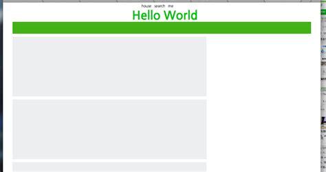 css layout in php css css를 이용하여 레이아웃 만들어 보기 css 입문 everdevel 에버디벨