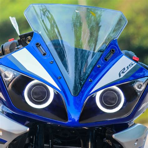 Led Blue Light Bulb Yamaha R15 Led Headlight Assembly 2015 2016 2017