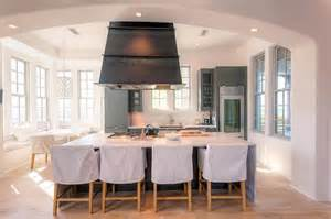 kitchen island hoods kitchen with freestanding island contemporary kitchen