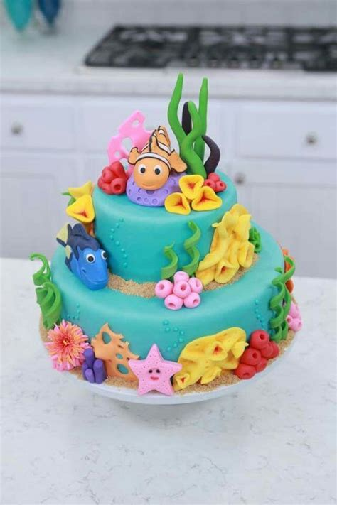 nemo cake template finding nemo finding nemo cake and cakes on