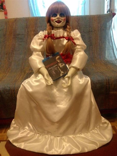 annabelle doll buy annabelle doll the conjuring size 1 1 ebay