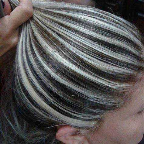gray frosted hair 185 best images about contrast hair color on pinterest