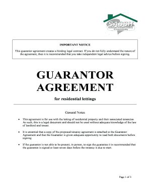 Letter Of Guarantee For Rental Property Guarantor Form Template Motorcycle Review And Galleries