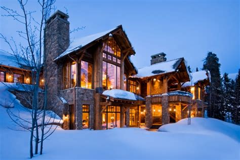 winter homes 7 winter cabins that you would like to spend winter in