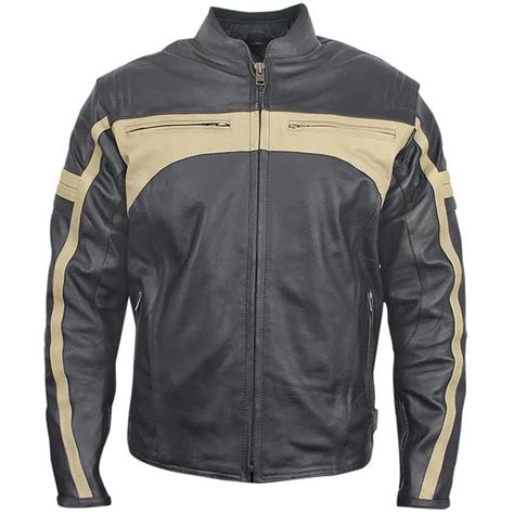 armored leather motorcycle jacket xelement bxu 100570 s armored leather motorcycle jacket