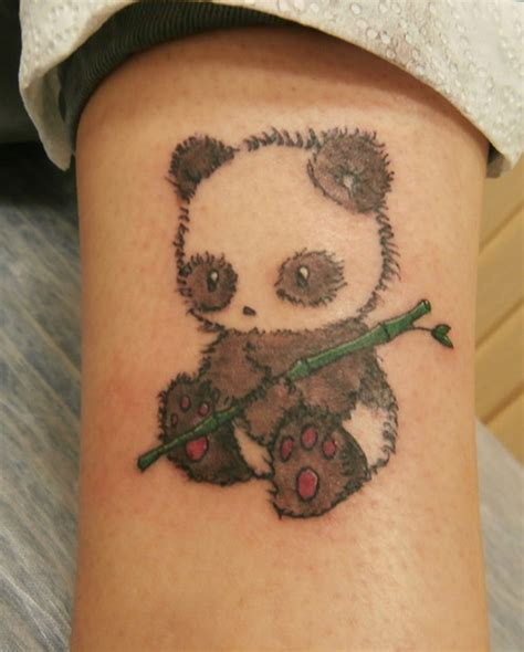 panda tattoo cute 40 dashing panda bear tattoos and their meaning tail and fur