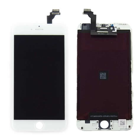Repair Lcd Iphone 6 oem original white touch digitizer lcd screen assembly for