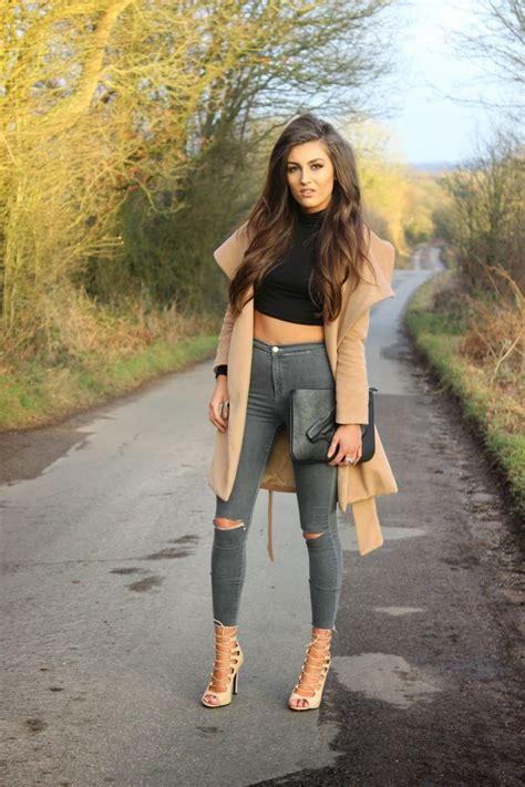 fresh ways  wear high waisted jeans womens fashionizer