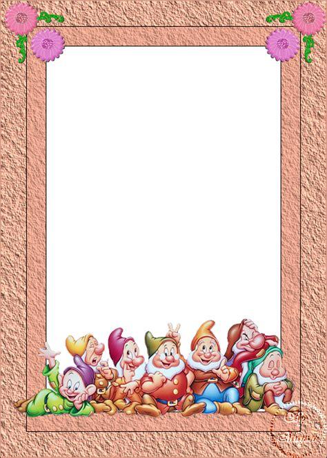 marcos para decorar hojas infantiles marcos infantiles para hojas imagui
