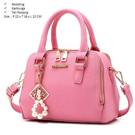 Tas Fashion Import Murah B2016 Pink Jual B937 Pink Tas Fashion Import Grosirimpor