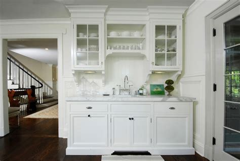 kitchen with glass cabinets glass door cabinet white images