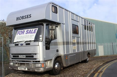 horseboxes for sale lightweight prb horsebox for sale with full living for