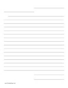 Friendly Letter Writing Paper Friendly Letter Template Submited Images