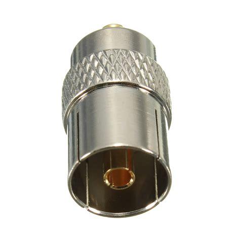 Socket Antena Tv Plastik mcx to coax coaxial socket tv antenna