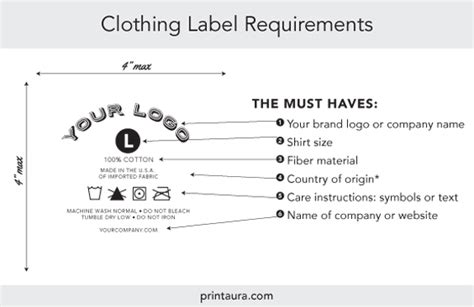 Branding Services Tagless Neck Label Application Print Aura Dtg Printing Services Clothing Label Design Templates