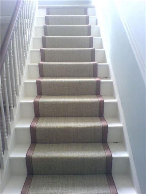 Sisal Teppich Treppe by Sisal Stair Runner Basement Renovation
