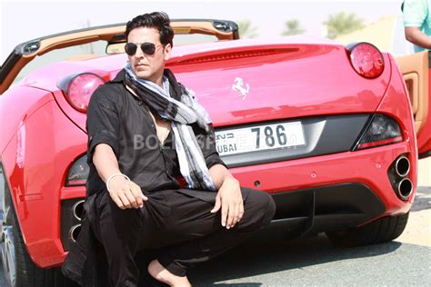 drive song akshay invites you for a long drive in his red ferrari