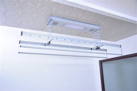 Ceiling Laundry Hanger by Remote Clothes Drying Rack China Mainland Furniture