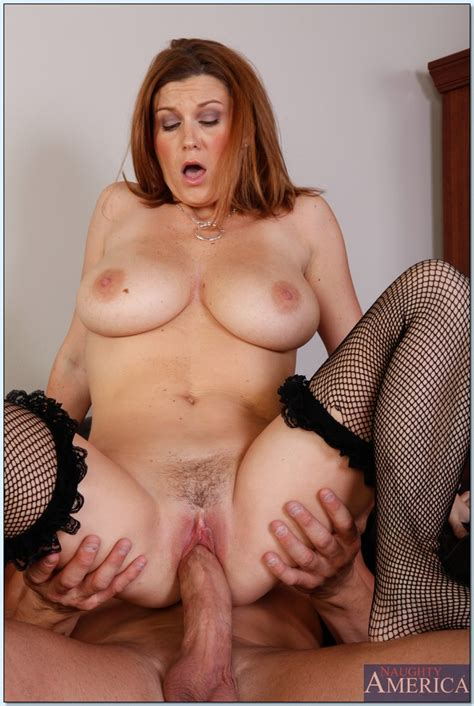 busty mature Office Babe Sara Stone Gets Fucked On Her Table