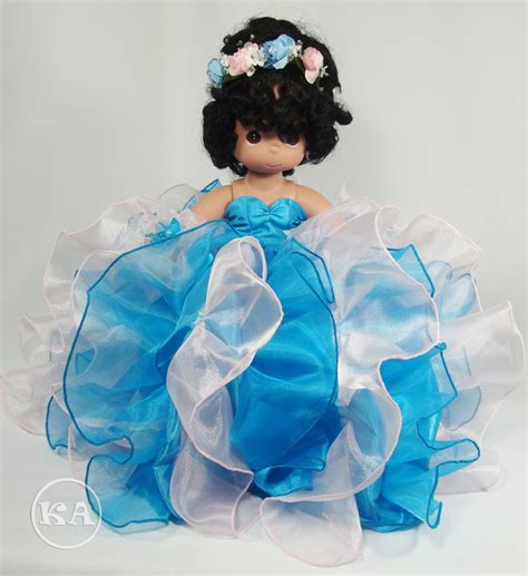 black quinceanera doll heidicollection betty 14 inch quinceanera doll in