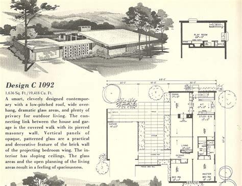 mid century modern homes floor plans inspirational mid mid century modern house plan inspirational mid century
