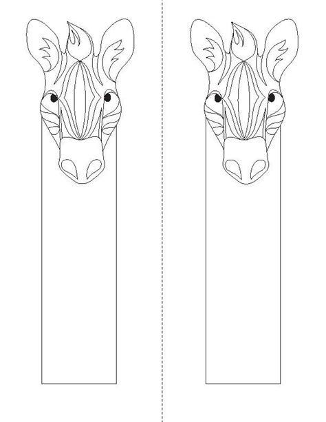 printable animal bookmarks to color bookmarks to color animal coloring bookmarks 171 children
