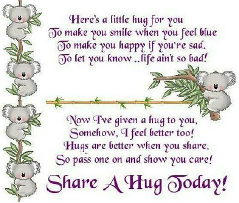 hug day quotes just for you