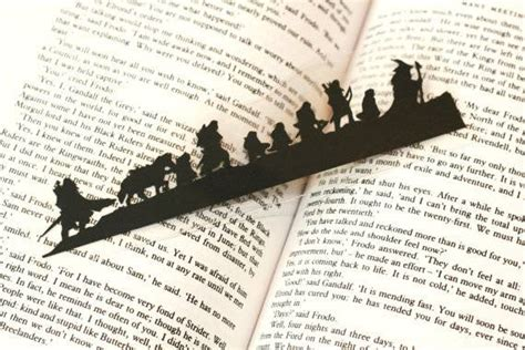 printable bookmarks lord of the rings book fetish volume 122
