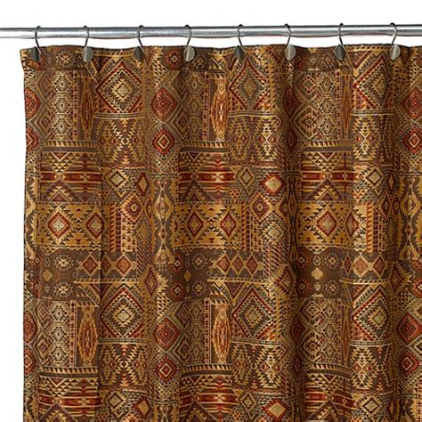 croscill curtains discontinued croscill 174 yosemite 70 inch x 72 inch fabric shower curtain