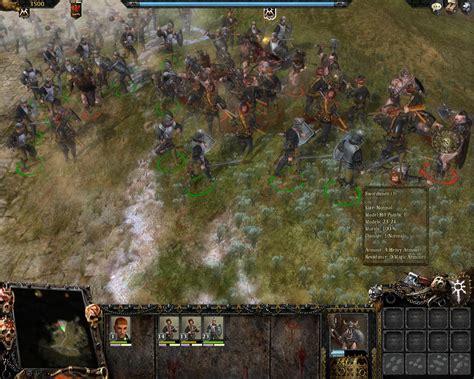 Warhammer Mark Of Chaos скачать через торрент бесплатно