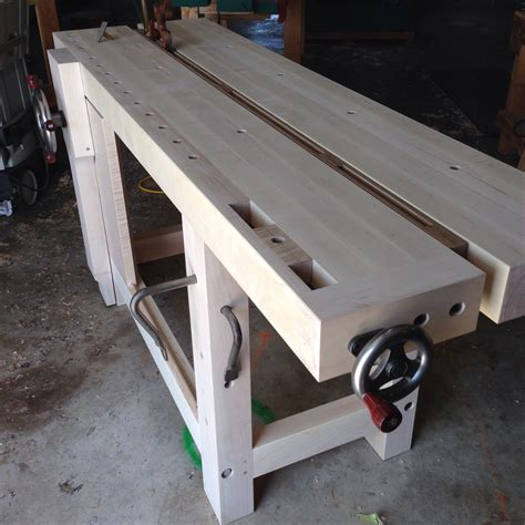 top bench my new split top roubo bench and a surprise from
